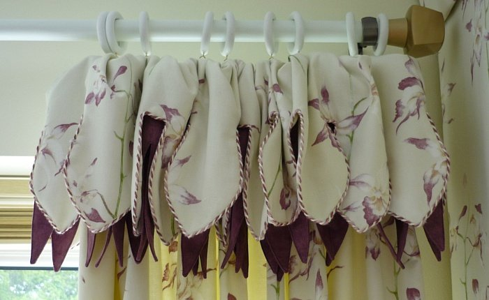 Attached valance