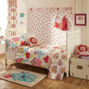 Birdhouse collection in Brights